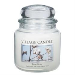 Village Candle Vonná sviečka Čistá bielizeň - Pure Linen, 397 g