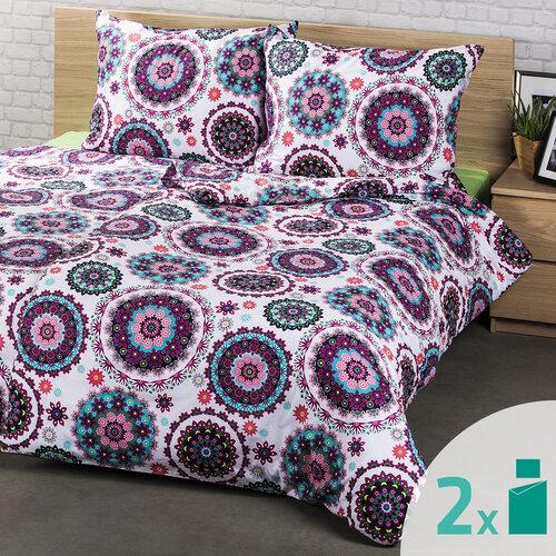 4Home 2 sady obliečok Daliah, 2x 140 x 200 cm, 2x 70 x 90 cm