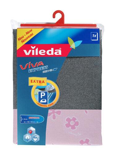 Poťah na žehliacu dosku  Vileda Viva Express PARK + GO 115621 metalický