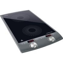 Sencor SCP 4202GY indukční vařič, stříbrná