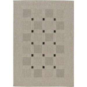 Spoltex Kusový koberec Floorlux silver/black 20079, 60 x 110 cm