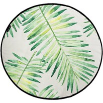 Butter Kings Bawełniany dywan do zabawy Palm leaves, 130 cm