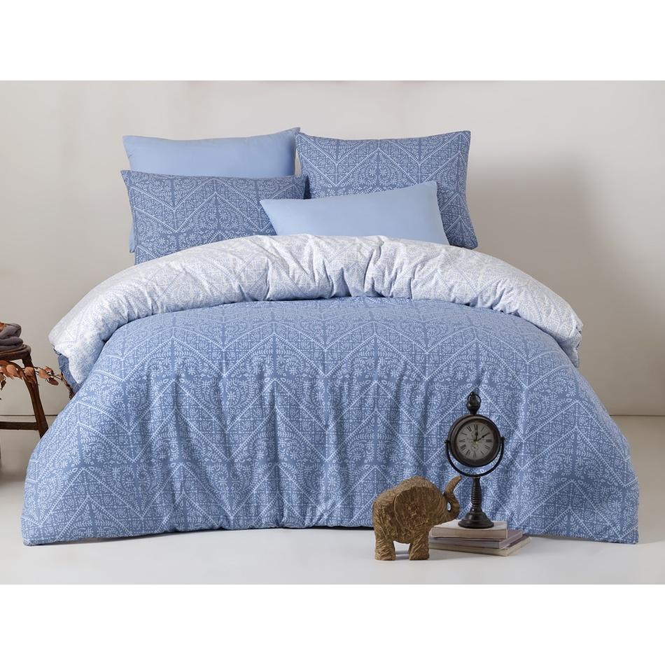 BedTex Bavlnené obliečky Vira Blue