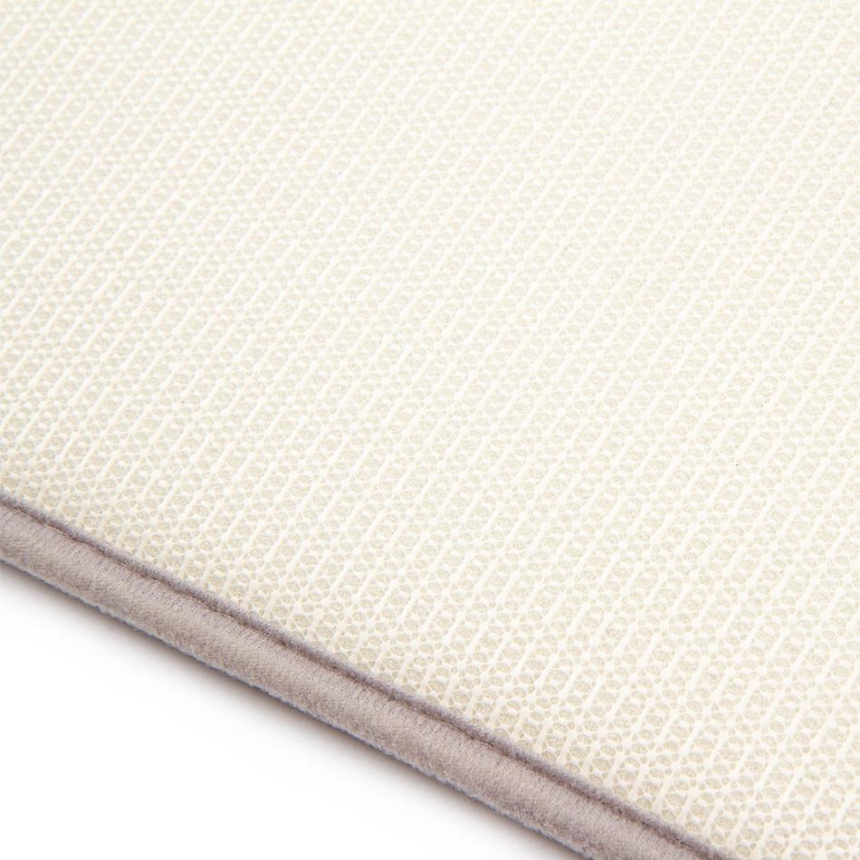 Produktové foto BO-MA Trading Koupelnová předložka Carol světle šedá, 50 x 80 cm