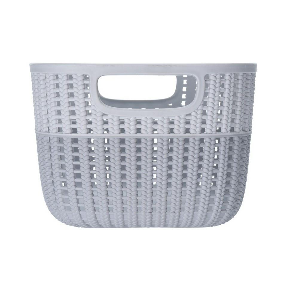 Úložný box Knit, šedá