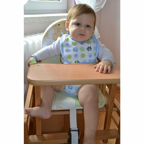 New Baby Buková židlička se stolkem Victory, 93 cm