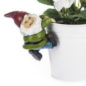 Záhradný opierajúci sa trpaslík zelená, 10 cm