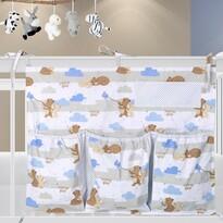 Organizer na łóżeczko Misie, 65 x 55 cm