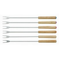 Set 6 piese furculițe fondue Kela MODESSA, lemn