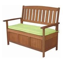 Ławka drewniana z przestrzenią do przechowywania Diana
