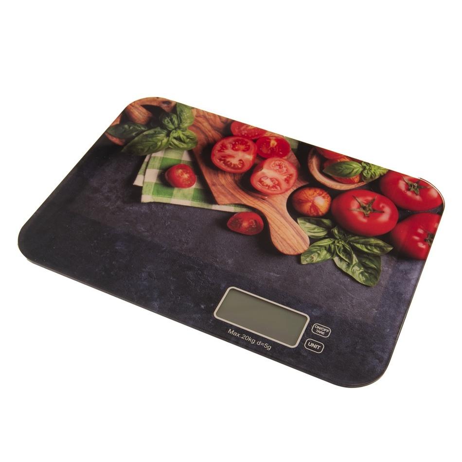 Fotografie Orion Digitální kuchyňská váha Zelenina, 20 kg