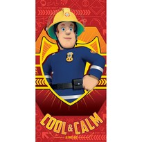 Prosop Fireman Sam red, 70 x 140
