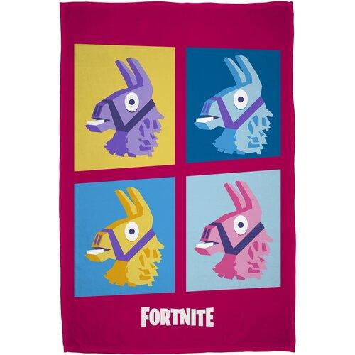 Pătură Fortnite roz, 100 x 150 cm
