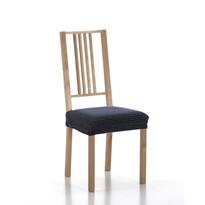 Multielastický potah na sedák na židli Sada modrá, sada 2 ks