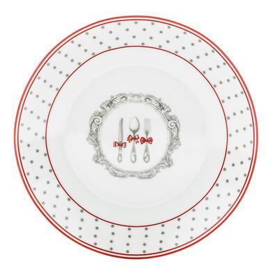 Dezertní talíř Alice 19 cm, šedá