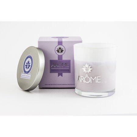 Arome Vonná svíčka s víčkem French Lavender, 200 g