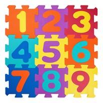 Plastica Penové puzzle Čísla, 10 dielov