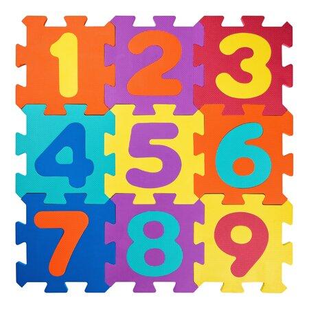 Plastica Penové puzzle Čísla, 23 dielov