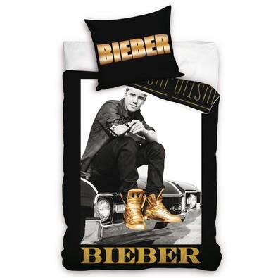 Bavlněné povlečení Justin Bieber, 140 x 200 cm, 70 x 80 cm
