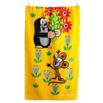 Matějovský Ręcznik Krecik i kwiatki, 70 x 150 cm