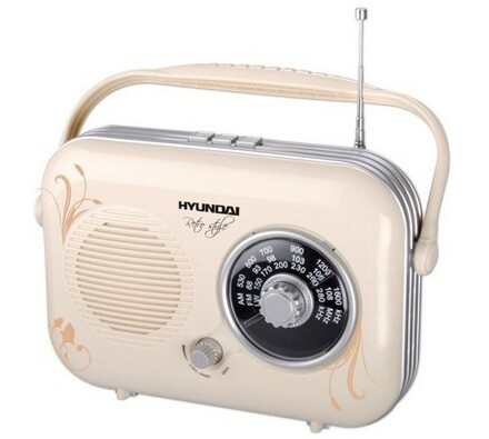 Radiopřijímač, PR 100B Retro, Hyundai