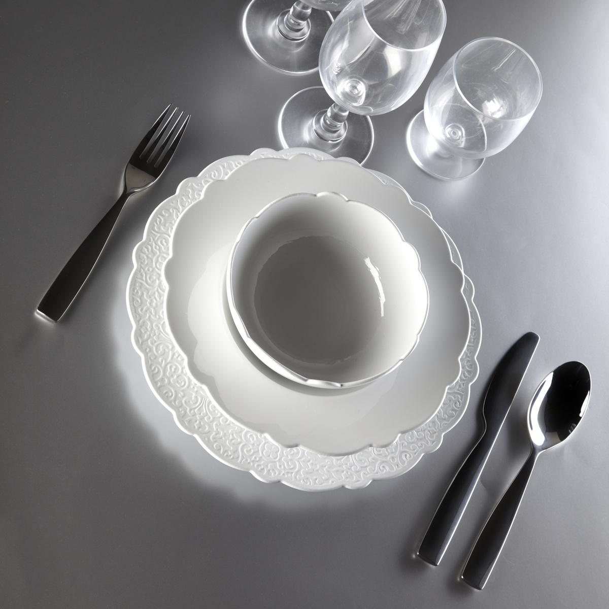 Alessi Miska Dressed 530 ml, pr. 15 cm, bílá