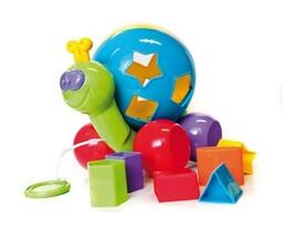 BumbleBee  Układanka sorter dla dzieci Ślimak