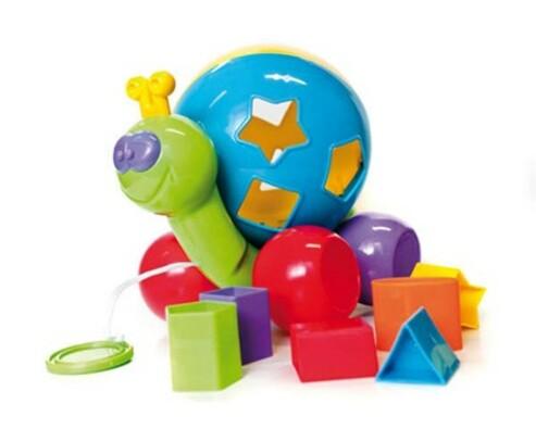 BumbleBee  Dětská vkládačka Šnek