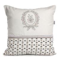 Altom Poszewka na poduszkę Provence biały, 40 x 40 cm