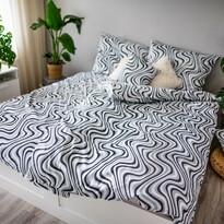Saténové obliečky Ema Waves, 140 x 200 cm, 70 x 90 cm