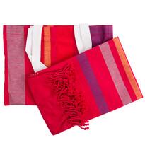 Peshtemal ręcznik plażowy Sunny Stripes, 90 x 158 cm