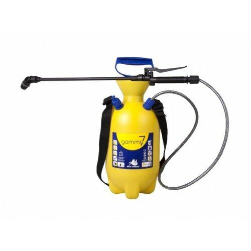 Postrekovač tlakový ramenný 7l žltá