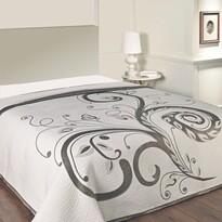 Cuvertură de pat Dominic black, 240 x 260 cm