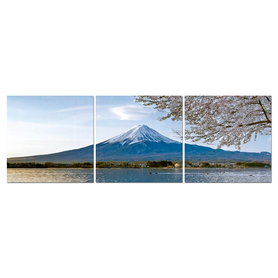Trojdielný obraz hora, OBK051