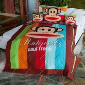 Matějovský přehoz na postel Paul Frank stripe, 160 x 220 cm
