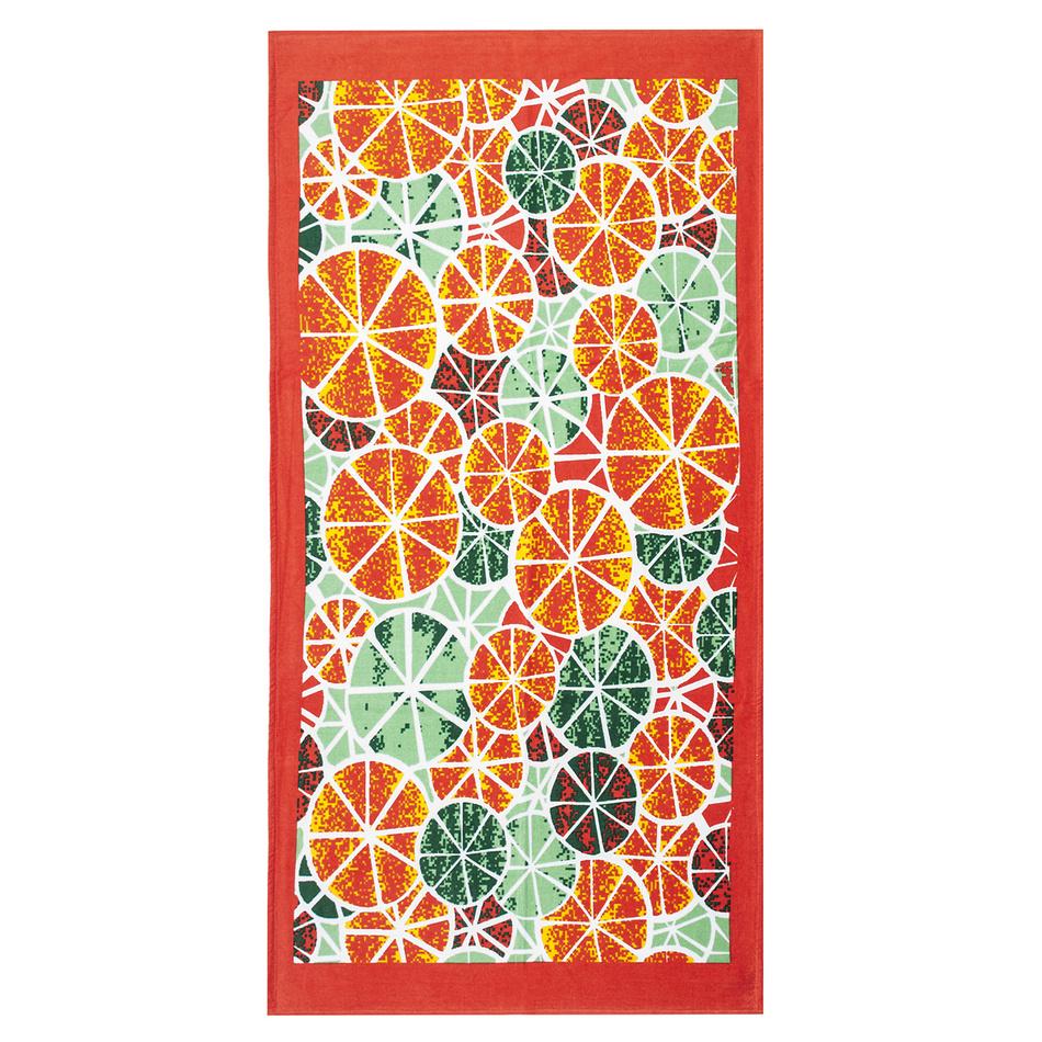 4Home Plážová osuška Pomaranč, 75 x 150 cm