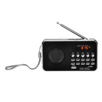 Bravo B-6039 digitálne rádio Sam, čierna