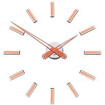 Future Time FT9600CO Modular copper Designové samolepiace hodiny, pr. 60 cm