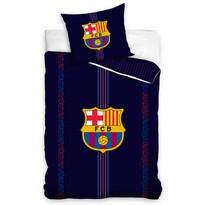 Bavlnené obliečky FC Barcelona Racing, 140 x 200 cm, 70 x 90 cm