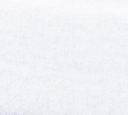 Flanelové prostěradlo, bílá, 100 x 200 cm