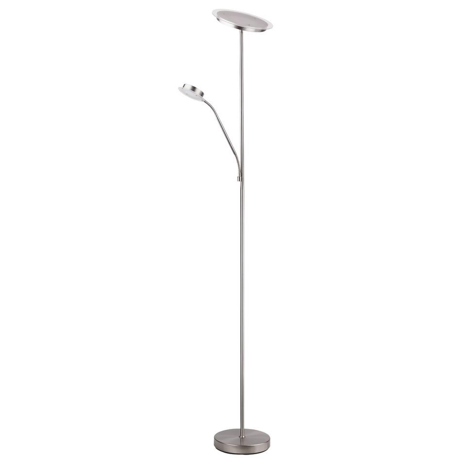 Rabalux 4162 Aaron stojací LED lampa, stříbrná