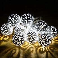Lampki Girando biały, 10 LED