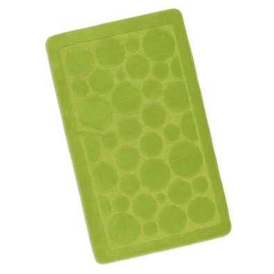 Koupelnová předložka Standard, zelená, 60 x 100 cm