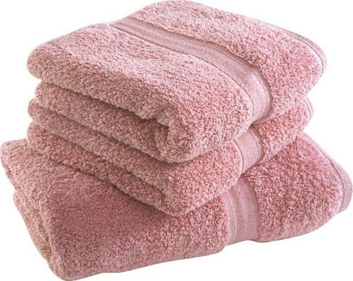 Ručník Onyron, starorůžový, 50 x 100 cm, růžová, 50 x 100 cm