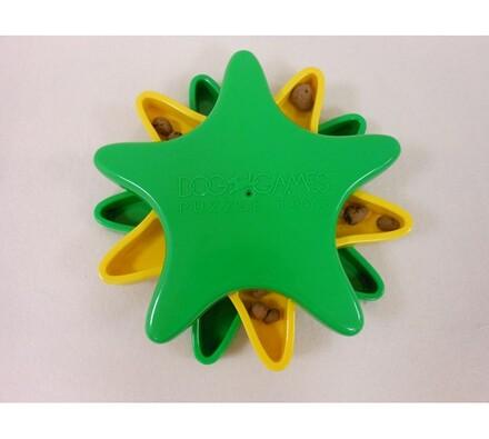 Interaktivní hračka s pamlsky, hvězdice