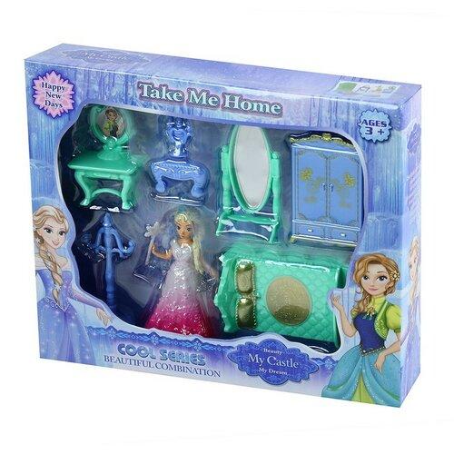Fotografie nábytek pro panenky zimní království