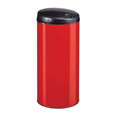 Rossignol Bezdotykový odpadkový koš Sensitive 45 l, červená