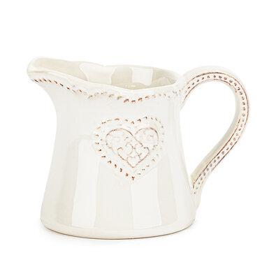 Keramická mlékovka Srdce 180 ml