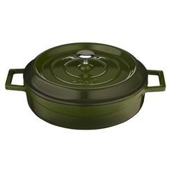 LAVA Metal Litinový kastrol kulatý zelený pr. 28 cm, pr. 28 cm