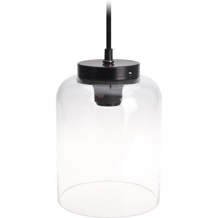 Glass jar függeszthető lámpatest, 22 cm